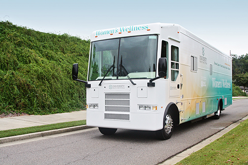 Women's Wellness on Wheels Mobile Unit